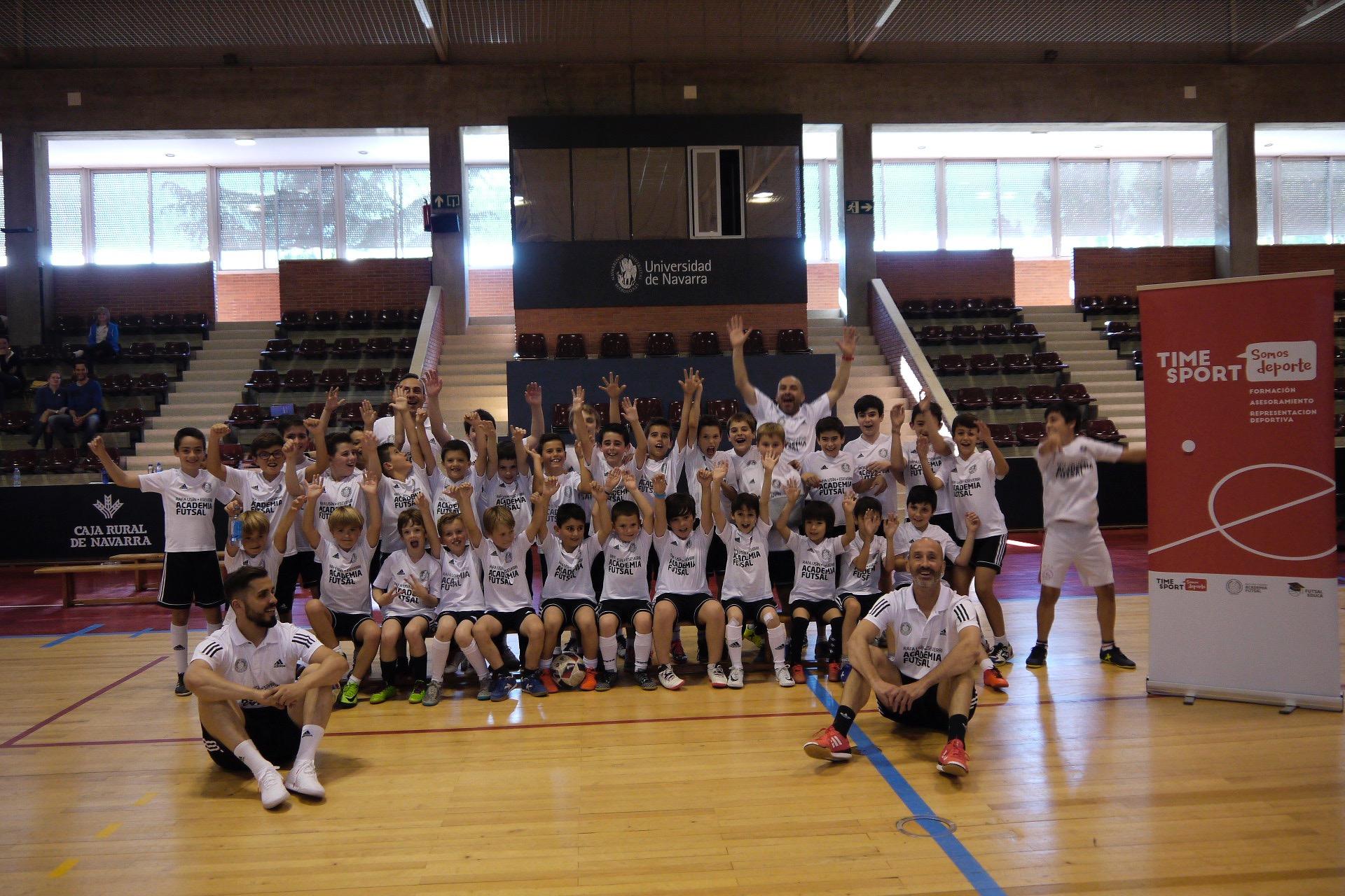 segunda promocion academia futsal