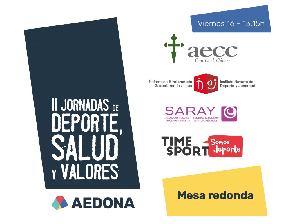 time-sport-mesa-redonda-jornadas-deporte-salud-valores-aedona-2018