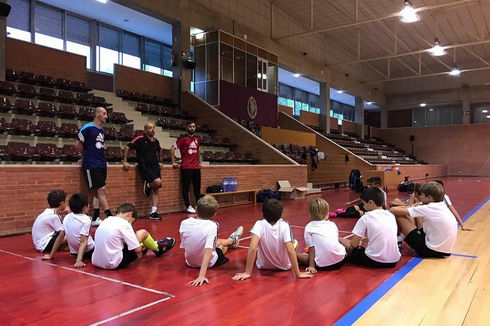 clases academia futsal pamplona